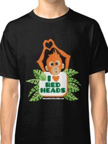 I heart (love) redheads  Classic T-Shirt