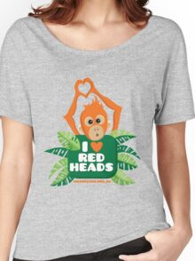 I heart (love) redheads  Women's Relaxed Fit T-Shirt
