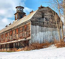 Old Time Barn by Erica M. Schaeffer
