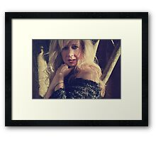 No, You Don't Know Me Framed Print