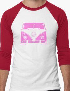 VW Kombi Pink design Men's Baseball ¾ T-Shirt