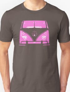 VW Kombi Pink design T-Shirt