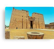 Temple of Horus2. Canvas Print