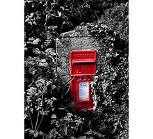 Cornish postbox Photographic Print