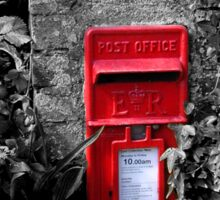 Cornish postbox Sticker