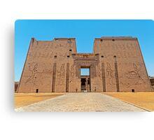 Temple of Horus3. Canvas Print