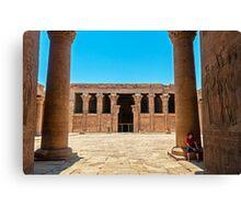 Temple of Horus4. Canvas Print