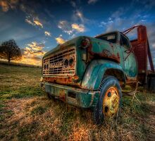 Old GMC by Bob Melgar