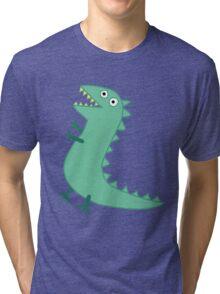 Mr Dinosaur Tri-blend T-Shirt