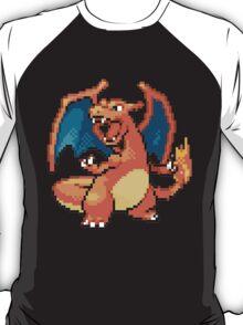 Pixel Charizard T-Shirt
