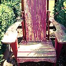 Red Chair by m E Grayson