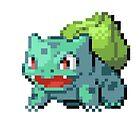 Pixel Bulbasaur by N1N10D0PE