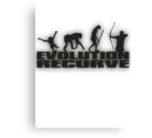 EVOLUTION RECURVE Canvas Print