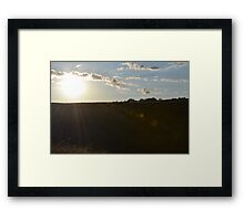 Field of Light Framed Print