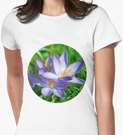 Crocus Womens Fitted T-Shirt