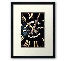 Royal Time Framed Print
