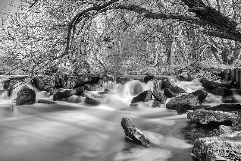 Anonymous Weir by Paul Richards