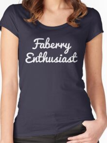 Faberry Enthusiast Women's Fitted Scoop T-Shirt