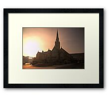 HDR Saint Mary's Cathedral Framed Print