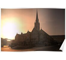 HDR Saint Mary's Cathedral Poster