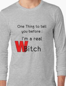 THE REAL WITCH Long Sleeve T-Shirt