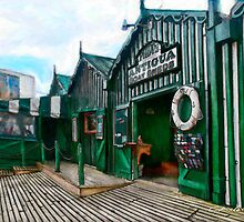 Phipps Antigua Boat Sheds and Cafe, Christchurch NZ by Chris Warring