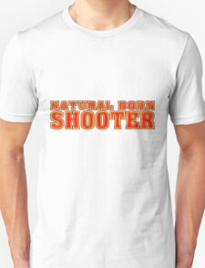 BORN SHOOTER Unisex T-Shirt