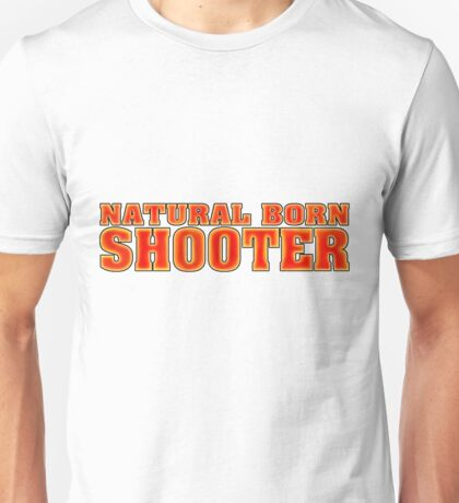 BORN SHOOTER Unisex T-Shirt