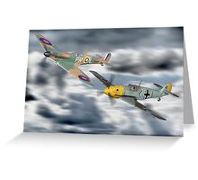 Corgi Aviation Ahrchive 1940 - 2000 Battle Of Britain Set ! Greeting Card