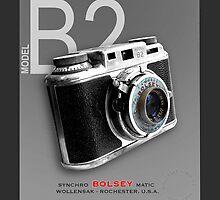 Bolsey 35mm Camera Ad by Glenn Launerts