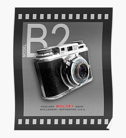 Bolsey 35mm Camera Ad Poster