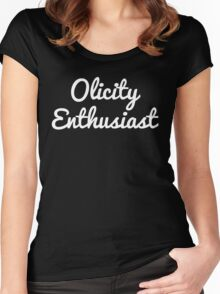 Olicity Enthusiast Women's Fitted Scoop T-Shirt