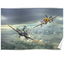 The Old Flying Machine Company - MH434 And Ferocious Frankie Poster
