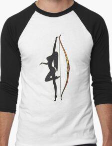 ARCHERY-SEXY RECURVE Men's Baseball ¾ T-Shirt