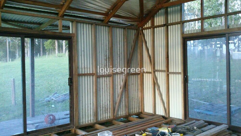 Studio in progress - interior  by louisegreen