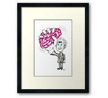 Brain Wave Framed Print