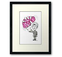Brain Wave Framed Print