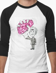 Brain Wave Men's Baseball ¾ T-Shirt