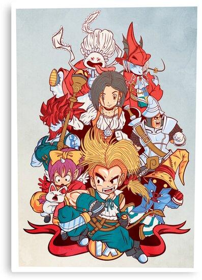 Fantasy Quest IX by pinteezy