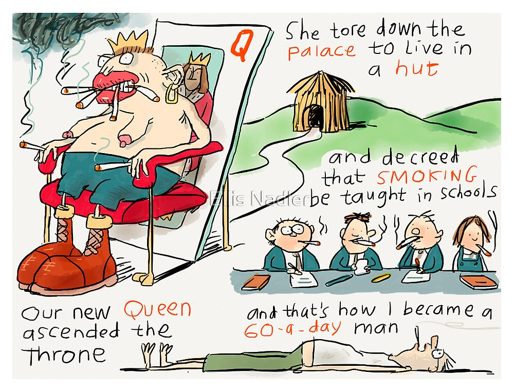 Our New Queen by Ellis Nadler