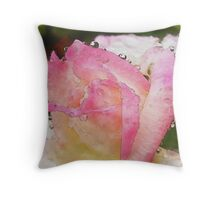 Admiration Of You (Watercolor) Throw Pillow