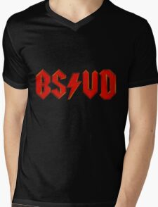 BS/VD Logo Mens V-Neck T-Shirt