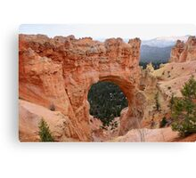 Natural Bridge,Bryce Canyon National Park,Utah Canvas Print
