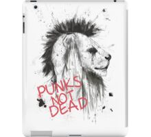 punks not dead iPad Case/Skin