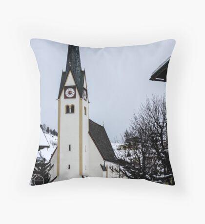 Abtenau, Austria Throw Pillow