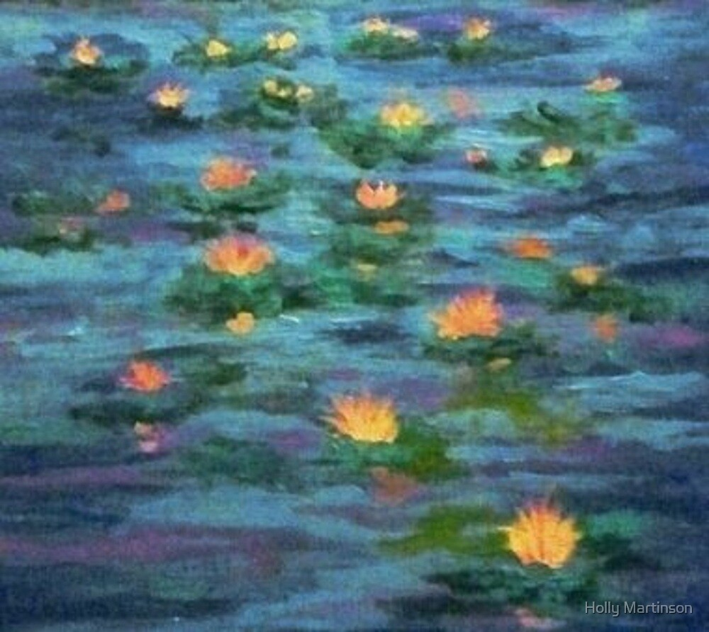 Floating Gems by Holly Martinson