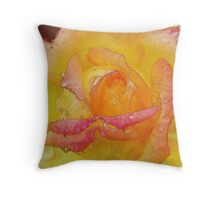 Nothing But My Sincerity (Watercolor) Throw Pillow