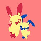 【3500+ views】Pokemon Plusle (for Girl) by Ruo7in