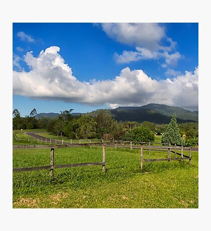 Rural View in Queensland Photographic Print