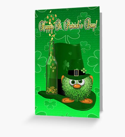 Happy St Pat`s Day Greeting Card